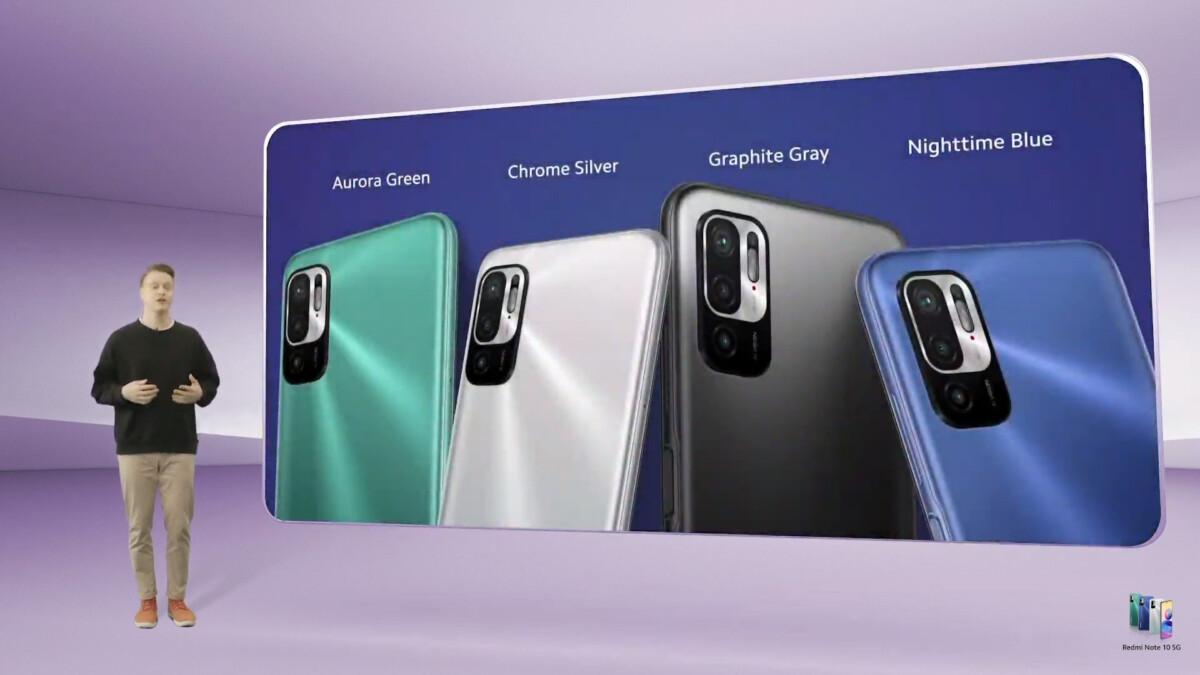 Xiaomi Redmi Note 10 5G officialisé: il mise sur la 5G avec un écran adaptatif 90Hz et une batterie de 5000mAh