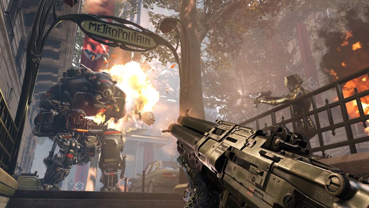 Les jeux bien testostéronés de Bethesda comme Wolfenstein Youngblood arrivent sur Xbox