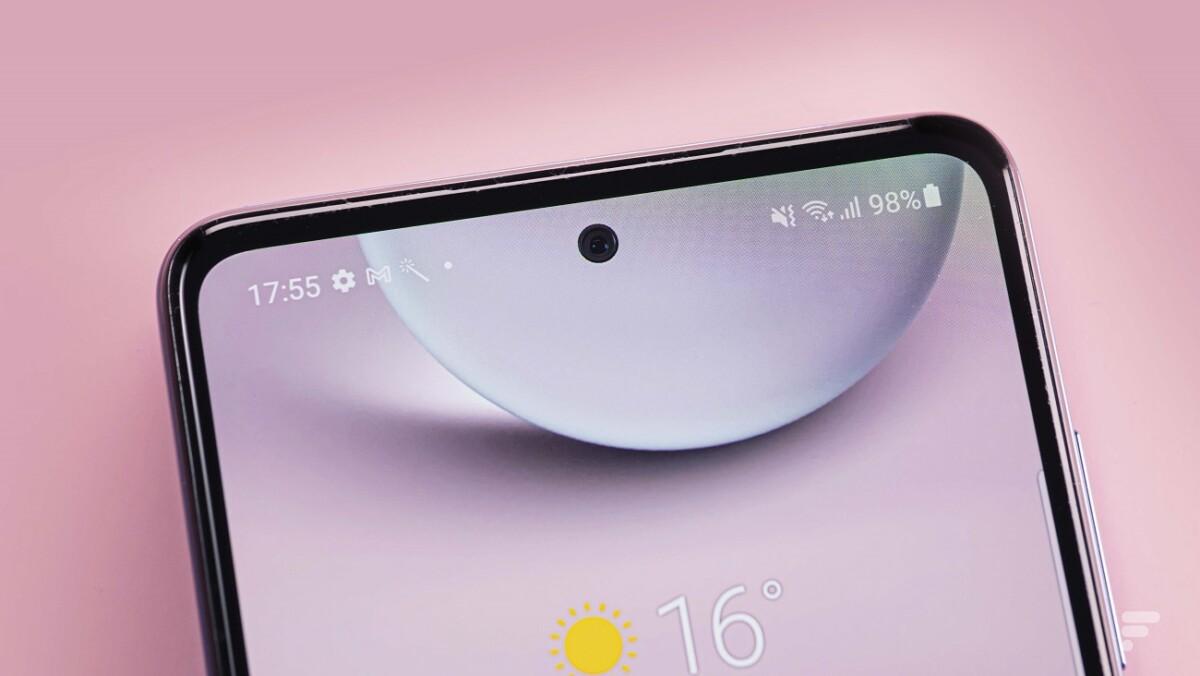 Le poinçon du Samsung Galaxy A52 5G