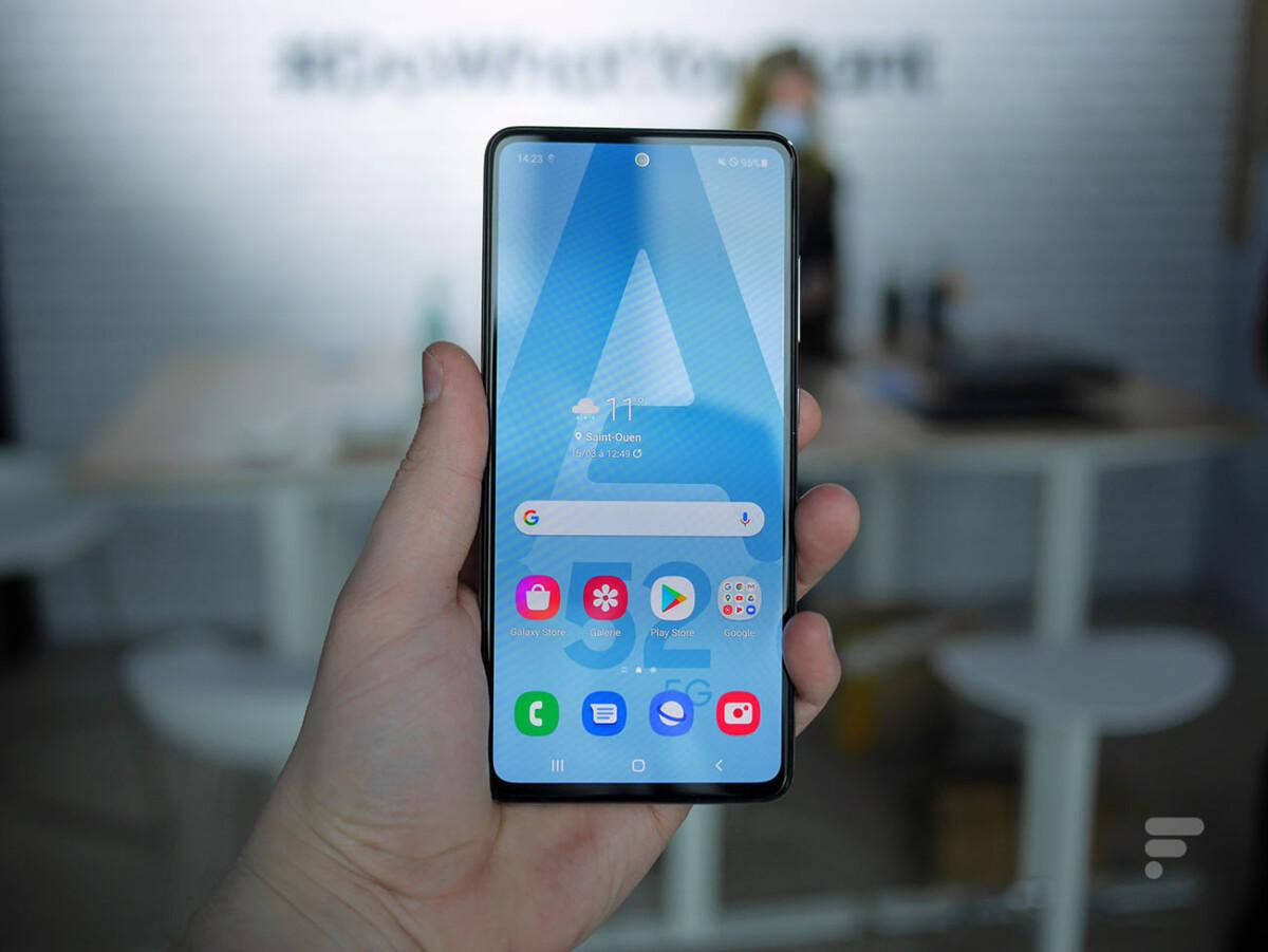 Le Samsung Galaxy A52 5G