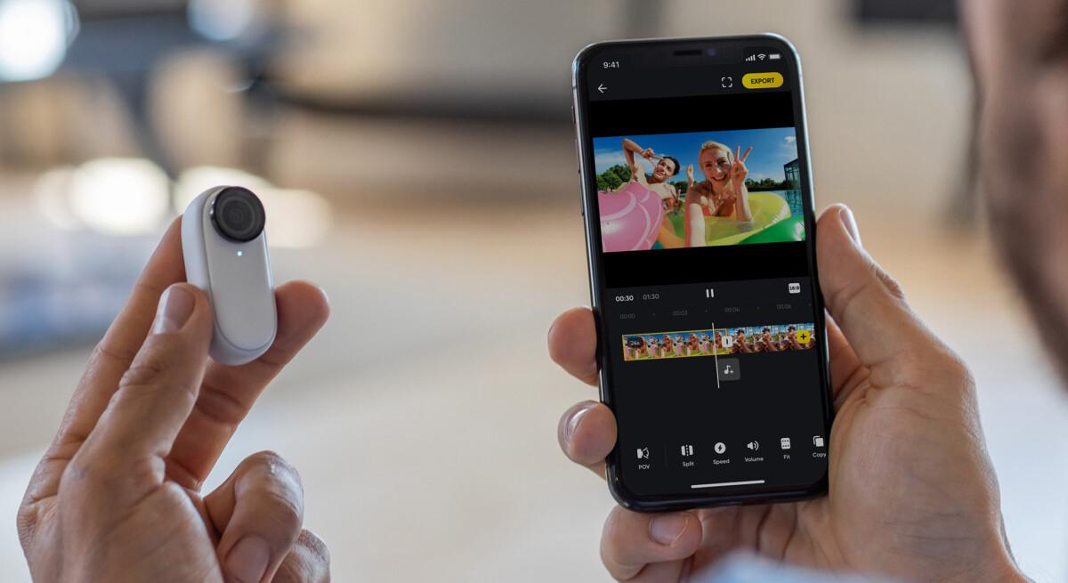 Une caméra d'action ultra compacte