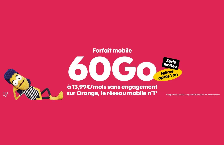 Forfait mobile : voici les offres sans engagement du mois de mars chez Sosh - Frandroid