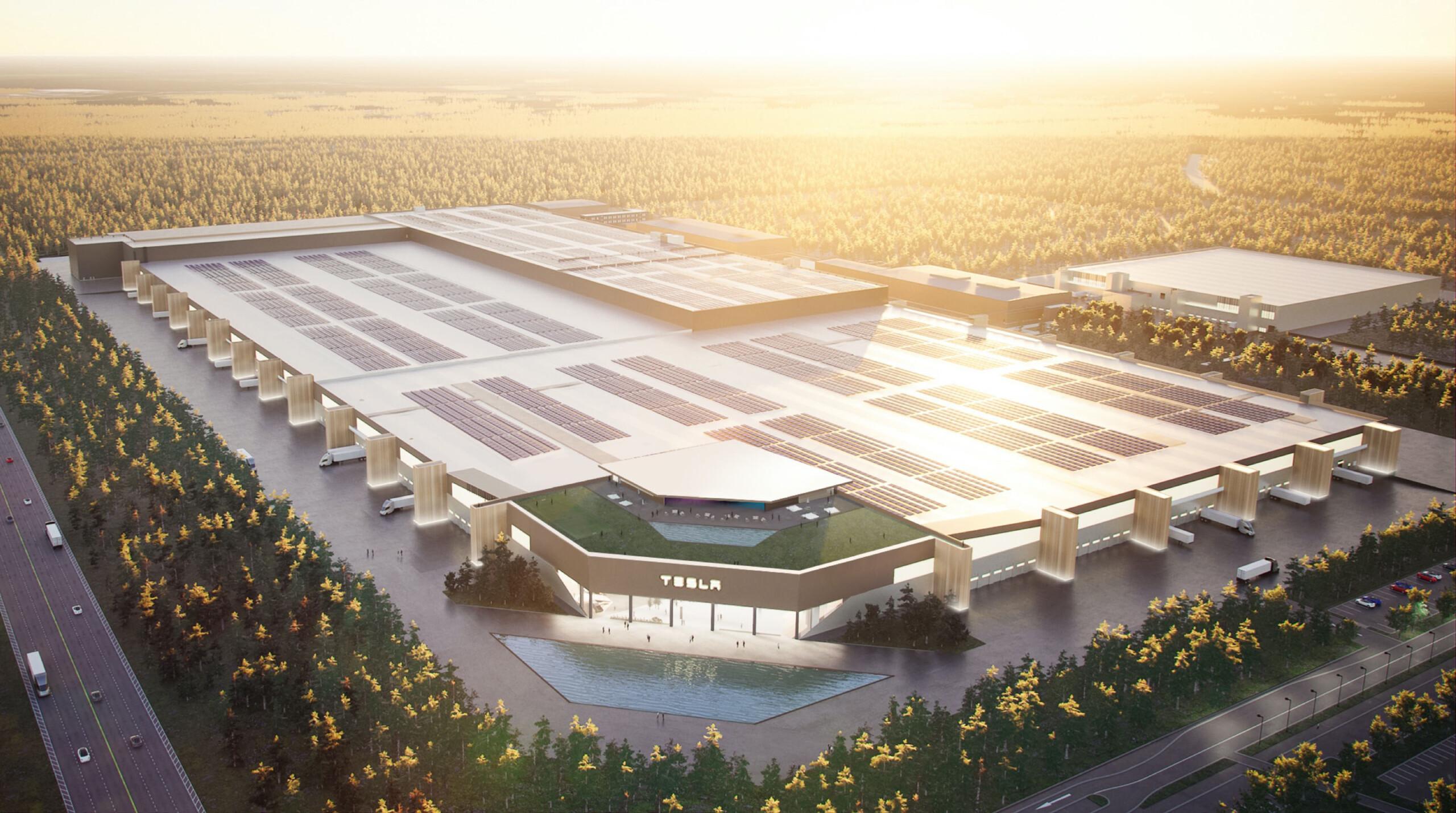 La Tesla Gigafactory Berlin a une date d'ouverture : en route vers les Model 3 et Model Y européennes