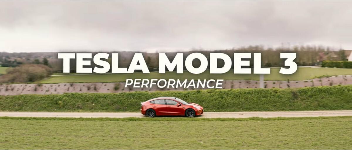 Notre vidéo sur la Tesla Model 3 2021 Performance