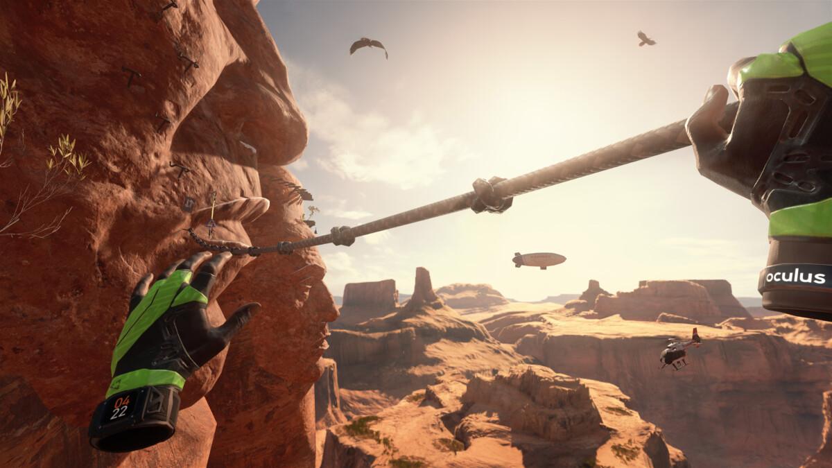 The Climb 2 revient sur Oculus Quest
