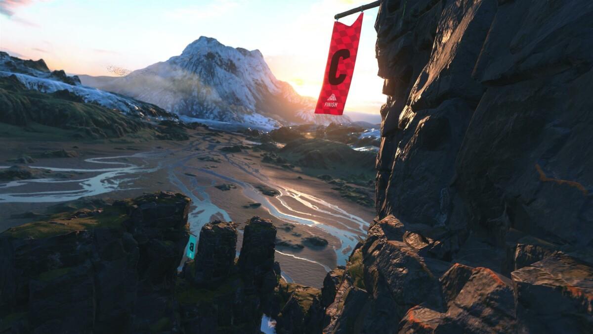 L'environnement Nord dans The Climb 2