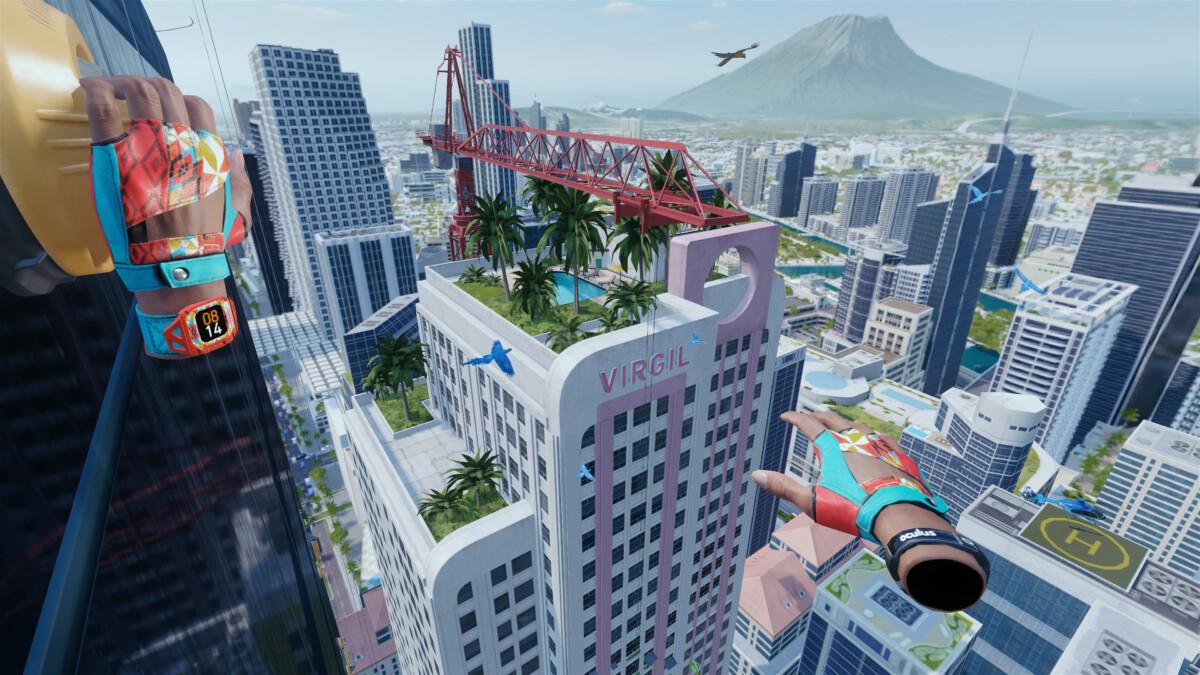 Les environnements urbains s'offrent à vous dans The Climb 2