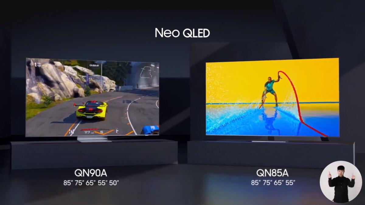 La gamme 2021 de Neo QLED