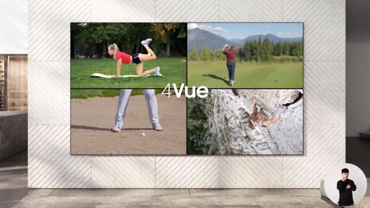 4Vue (Quad View) sur les Micro LED