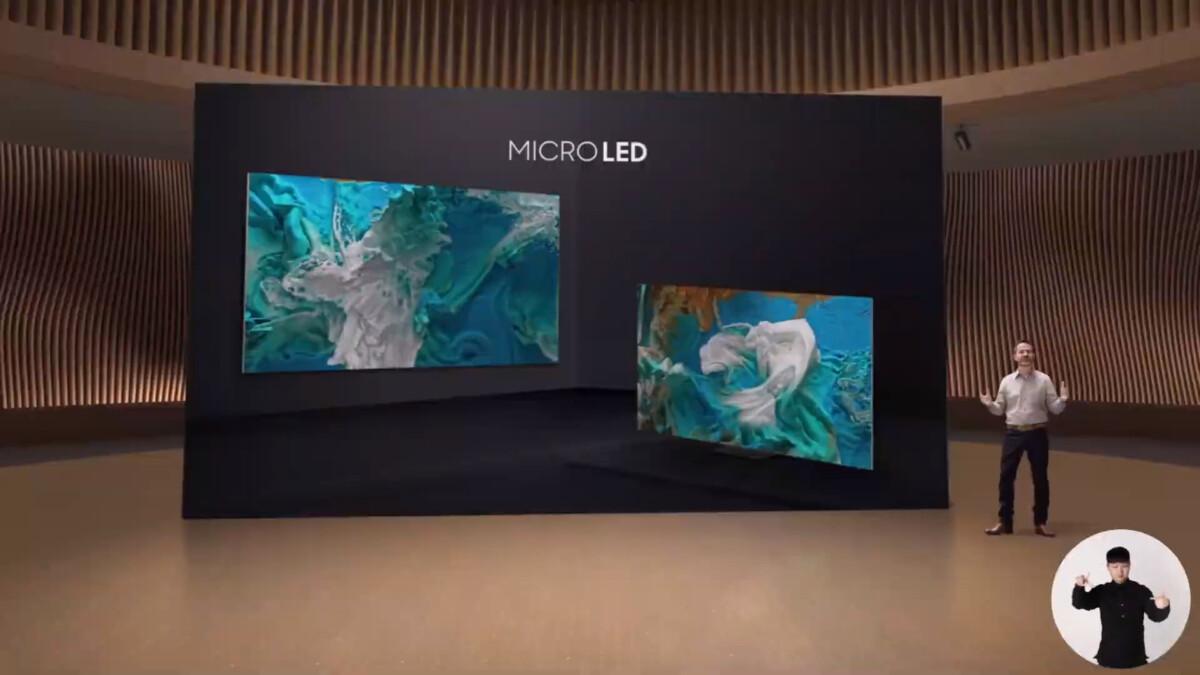 Les premières Micro LED commercialisées dans le monde pour le grand public