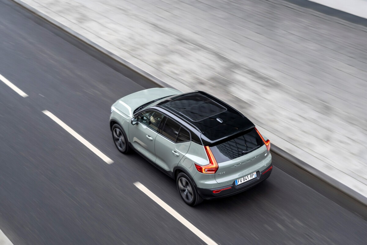 Illustration of the Volvo XC40 Recharge Twin / Source: ACE Team for Volvo Cars France