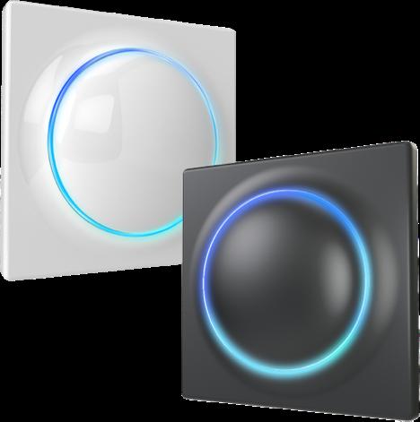 Le Walli Controller de Fibaro existe en blanc ou noir