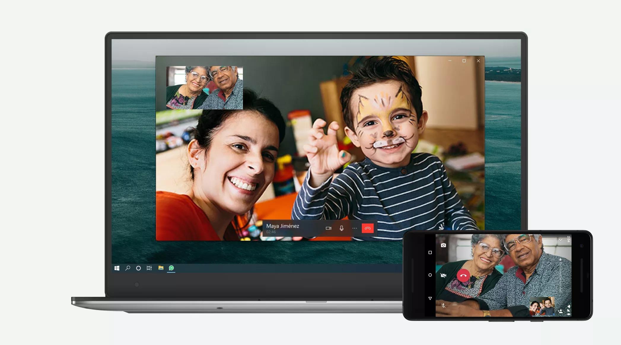 WhatsApp permet désormais de passer des appels vidéo depuis un ordinateur - Frandroid