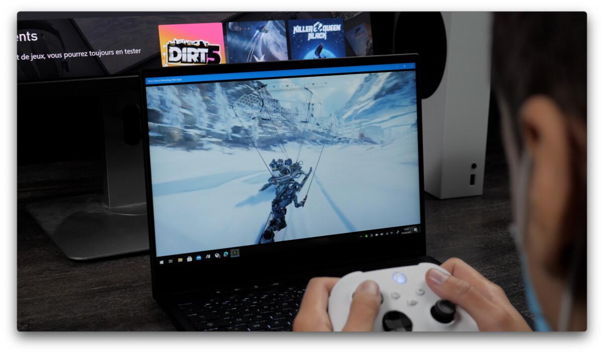 Xbox Game Pass sur PC avec xCloud