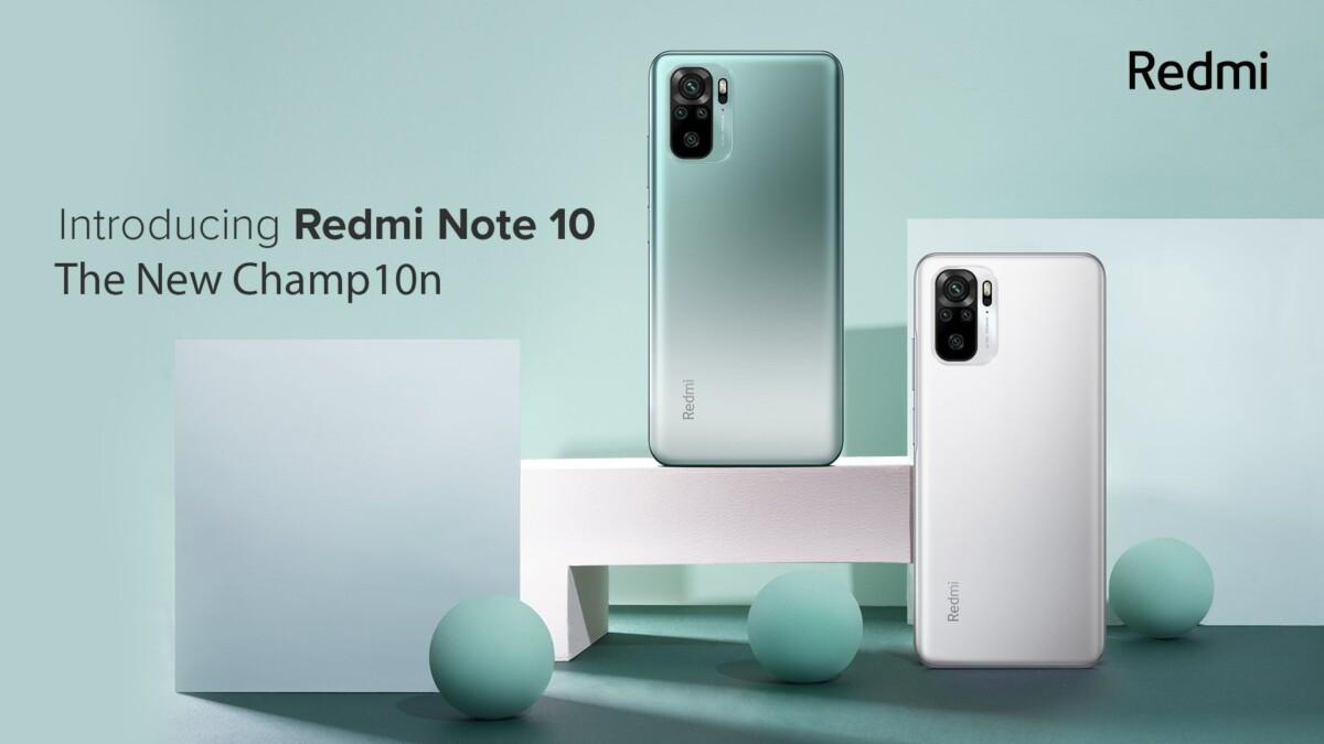 Xiaomi Redmi Note 10 en Inde