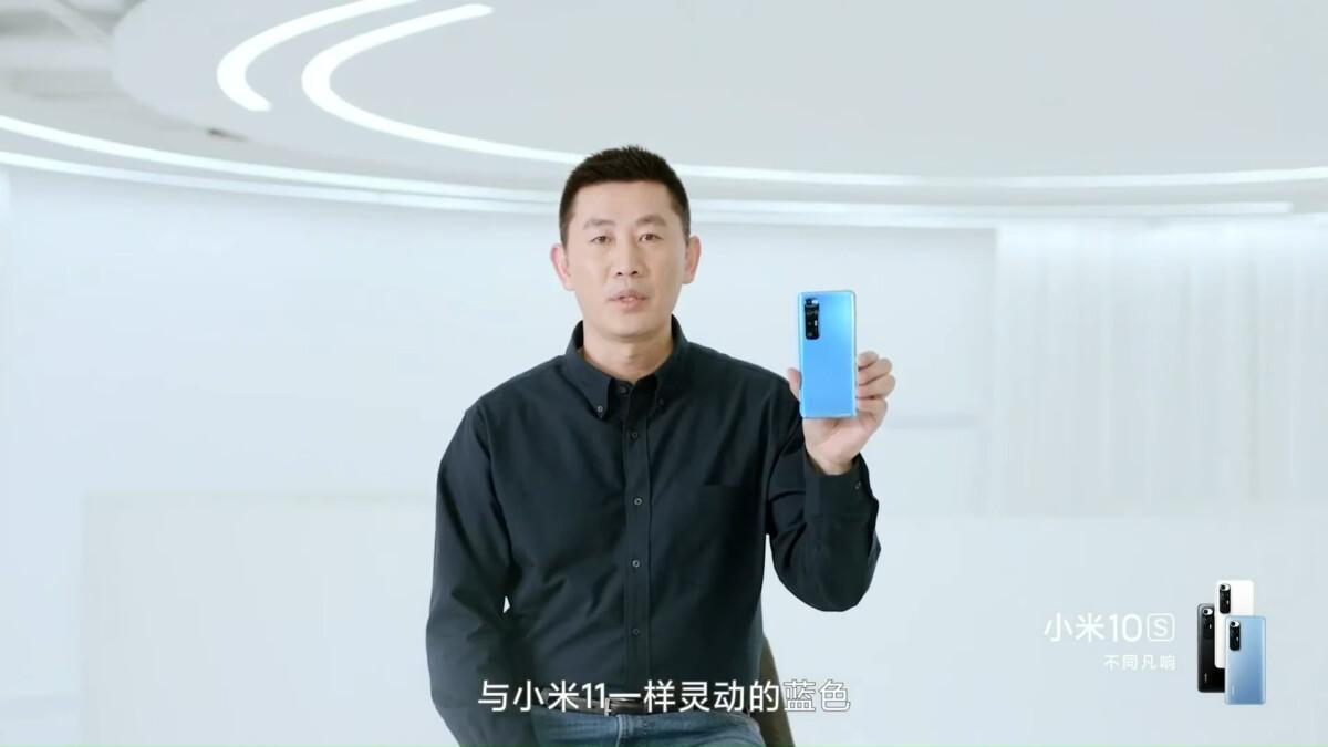 La présentation du Xiaomi Mi 10S