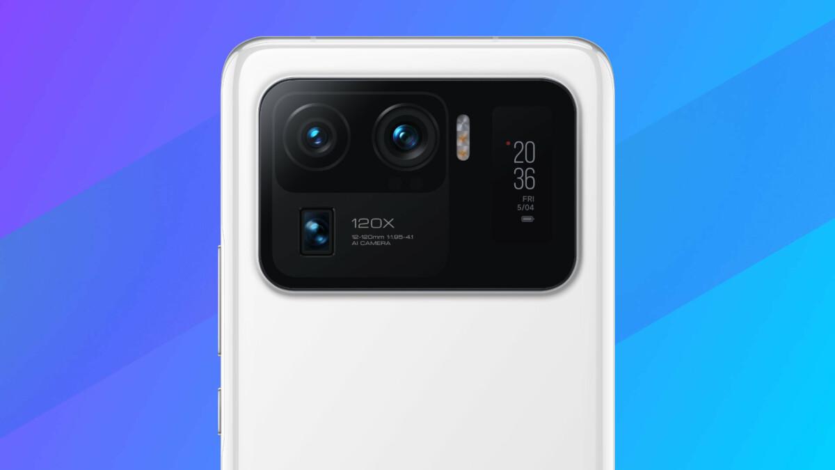 Module arrière du Xiaomi Mi 11 Ultra