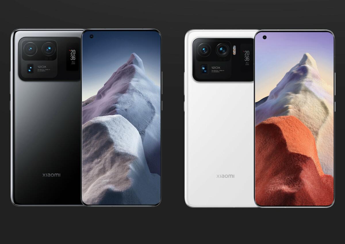 Design du Xiaomi Mi 11 Ultra