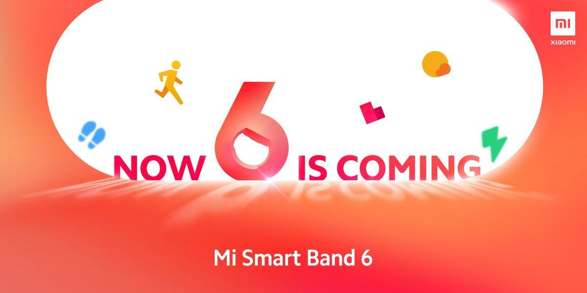 Le Xiaomi Mi Smart Band 6 va bientôt être présenté