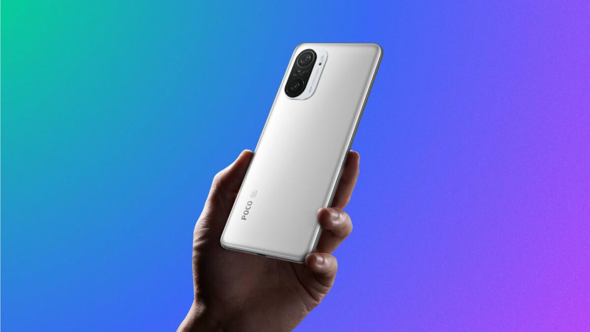Le Xiaomi Poco F3 en blanc