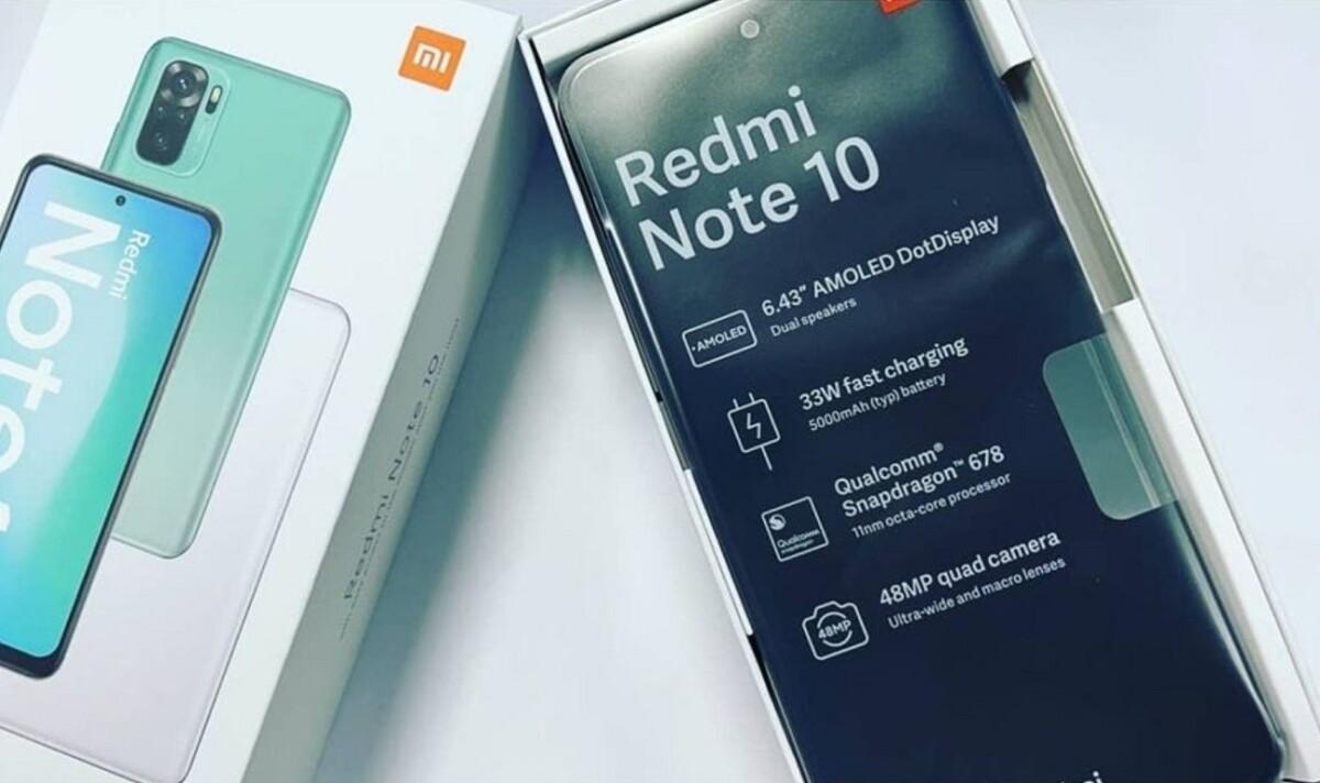 Le Xiaomi Redmi Note10