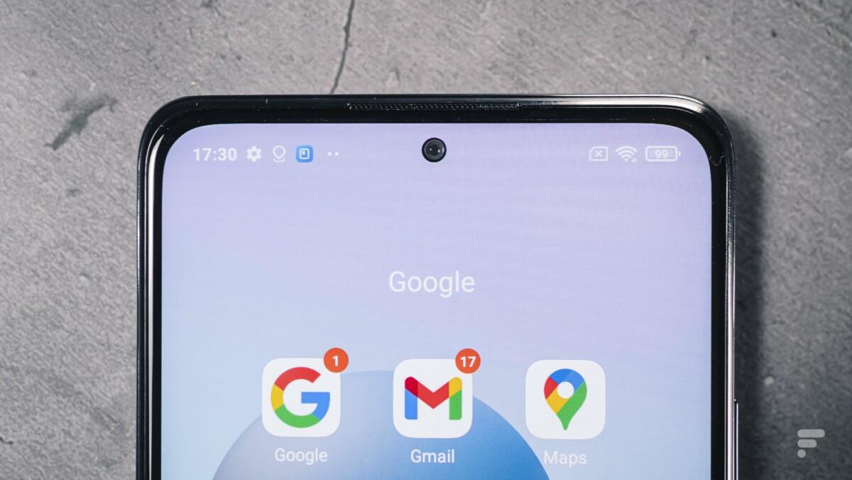 Poinçon du Xiaomi Redmi Note 10 Pro