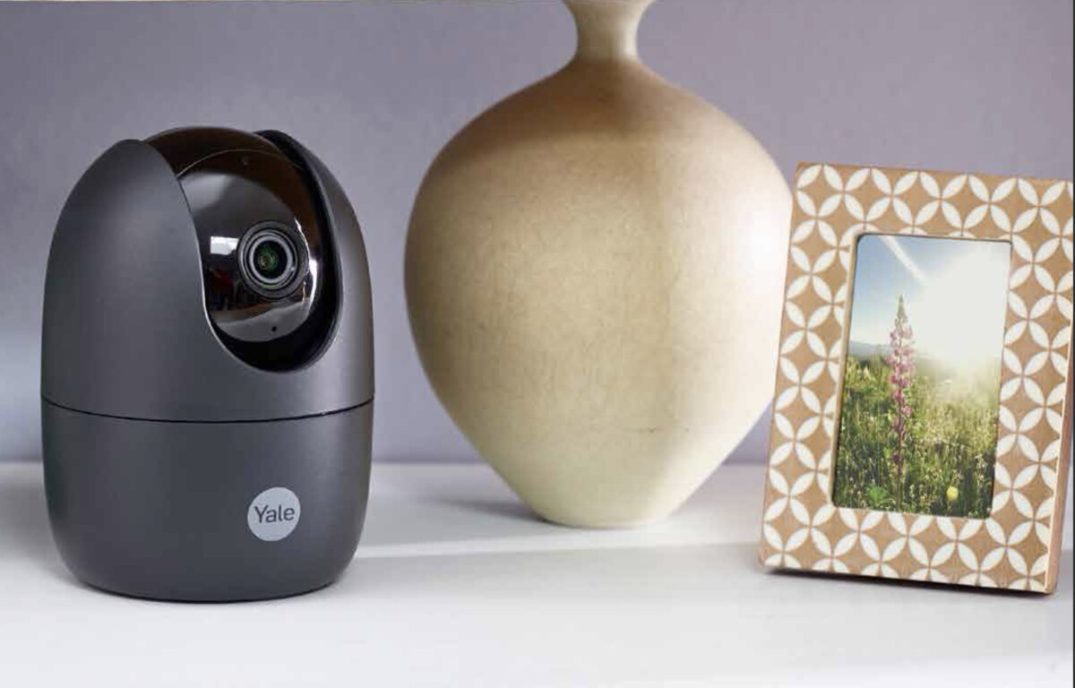 The Pan & Tilt camera allows you to monitor your home from all angles