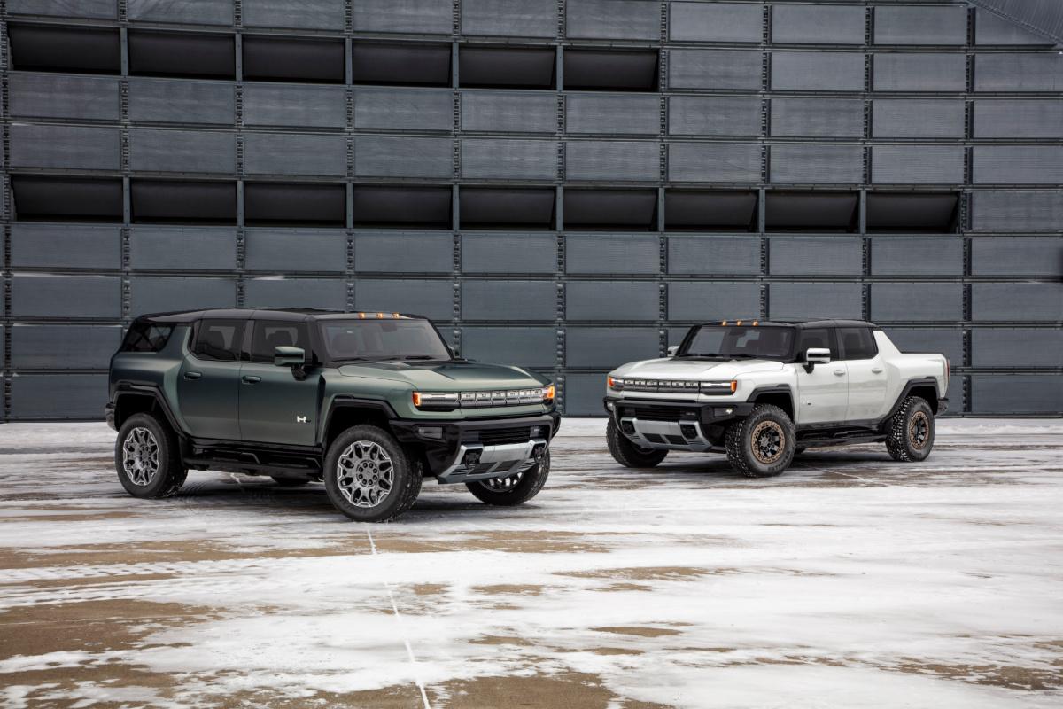 GMC Hummer SUV