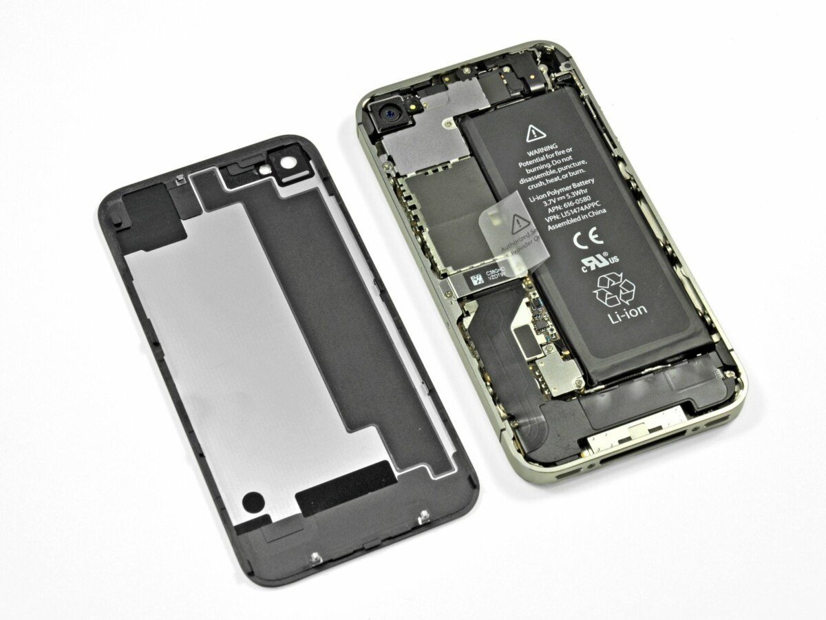 Apple iPhone 4S disassembled