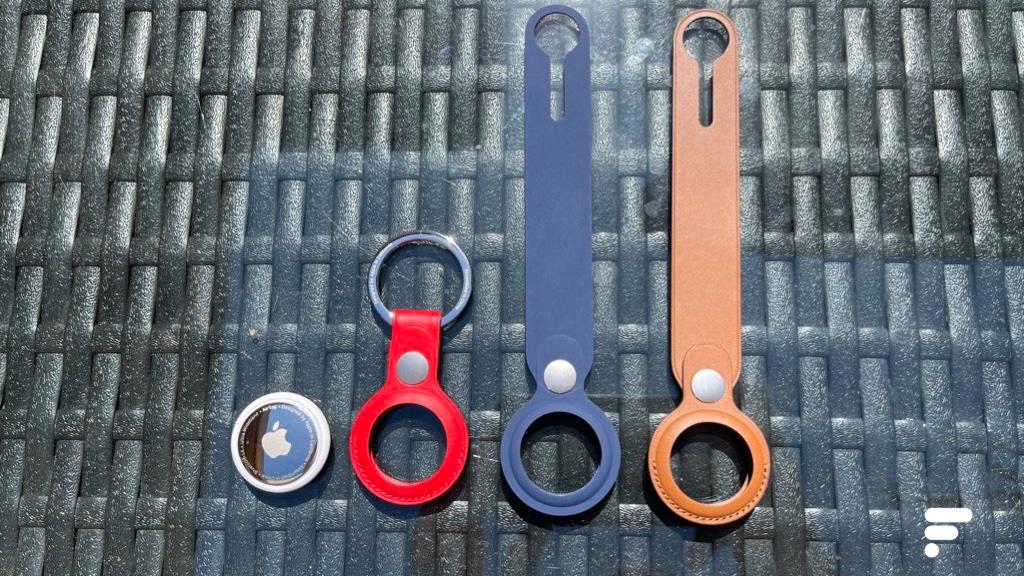 Pour accrocher la balise, Apple a prévu des accessoires en sus