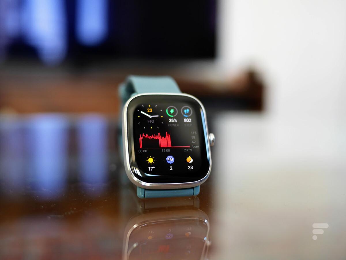 La montre Amazfit GTS 2 Mini