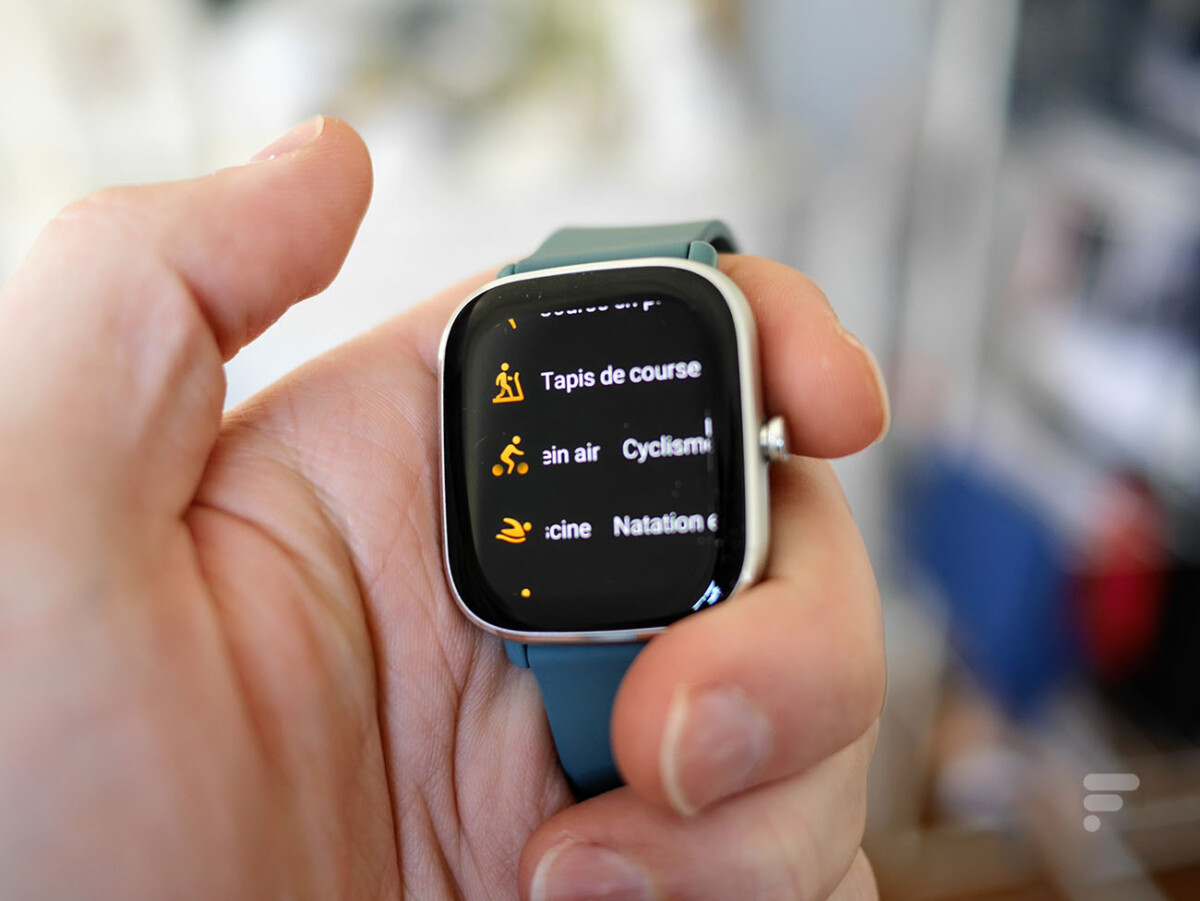 Les modes d'entraînement de la montre Amazfit GTS 2 Mini