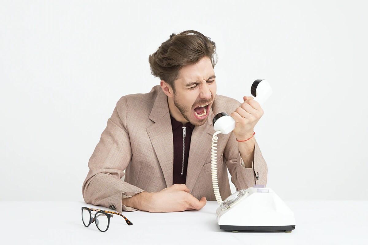 Quand vous recevez un appel indésirable