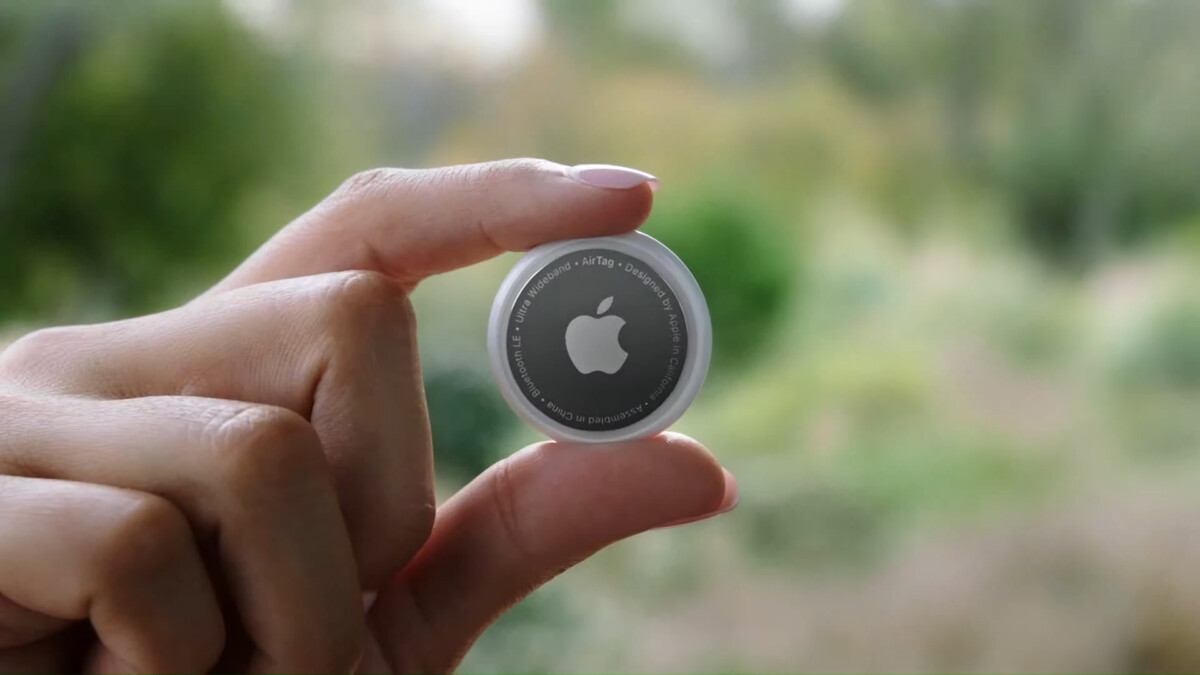 La balise AirTag d'Apple // source: Apple