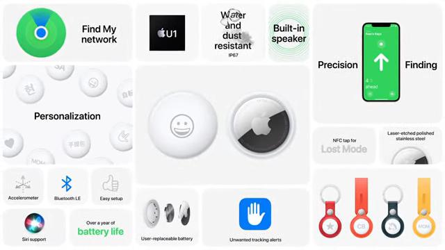 Apple dévoile enfin ses balises AirTags pour retrouver tous vos objets