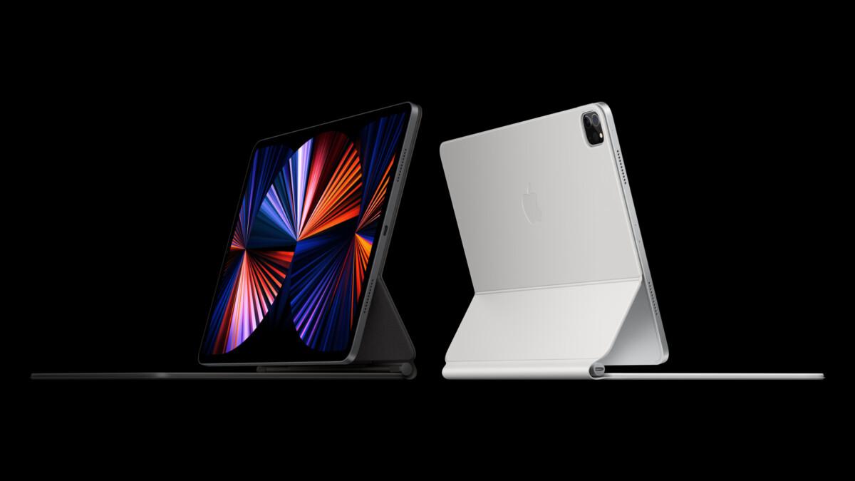 L'iPad Pro actuel et son Magic Keyboard