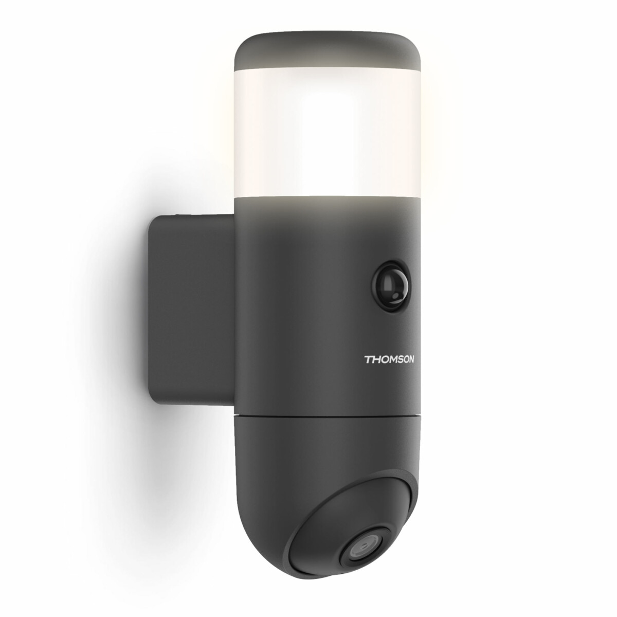 The Thomson Rheita 100 outdoor surveillance camera is also lighting