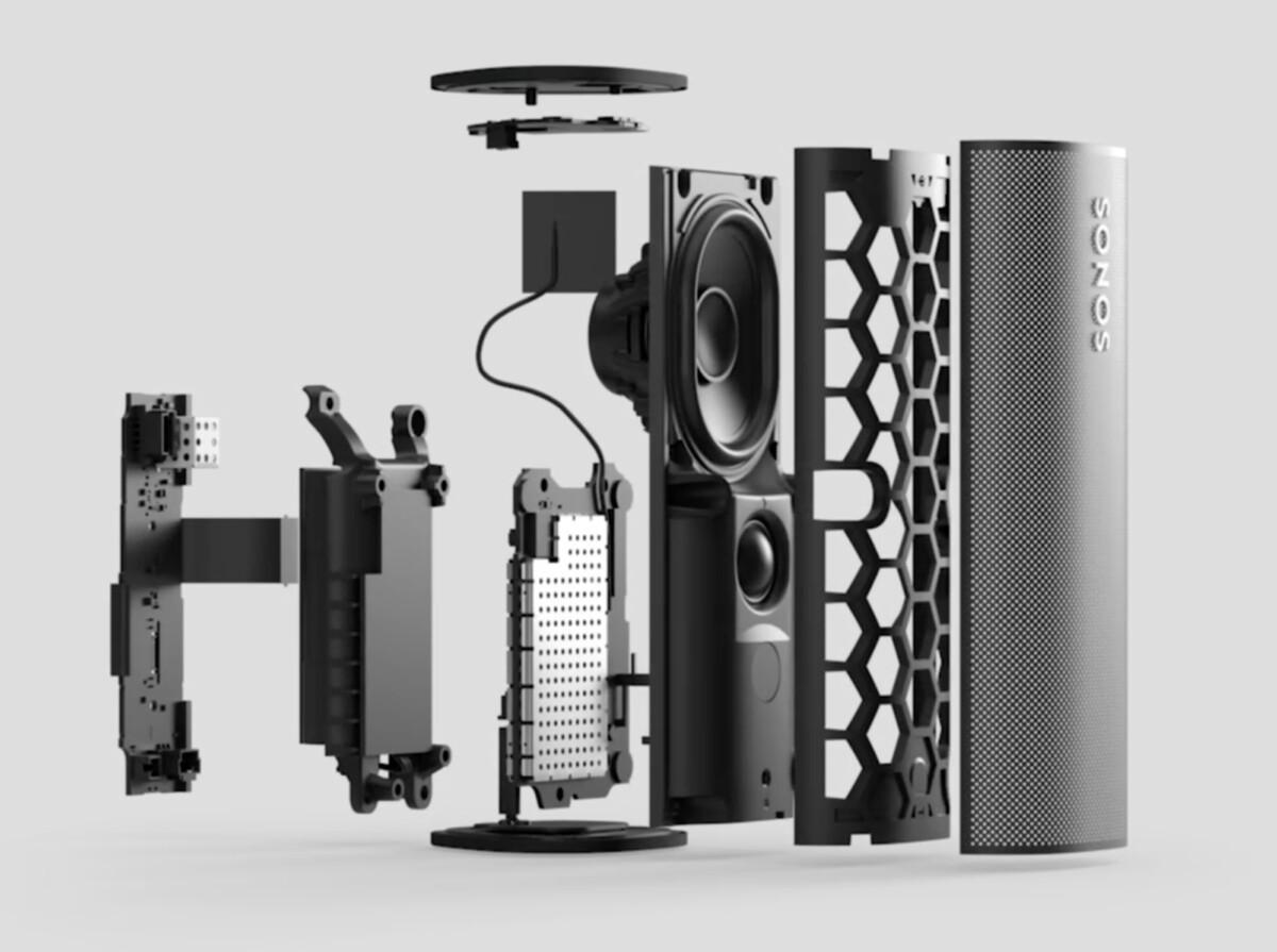 L'architecture de l'enceinte Sonos Roam
