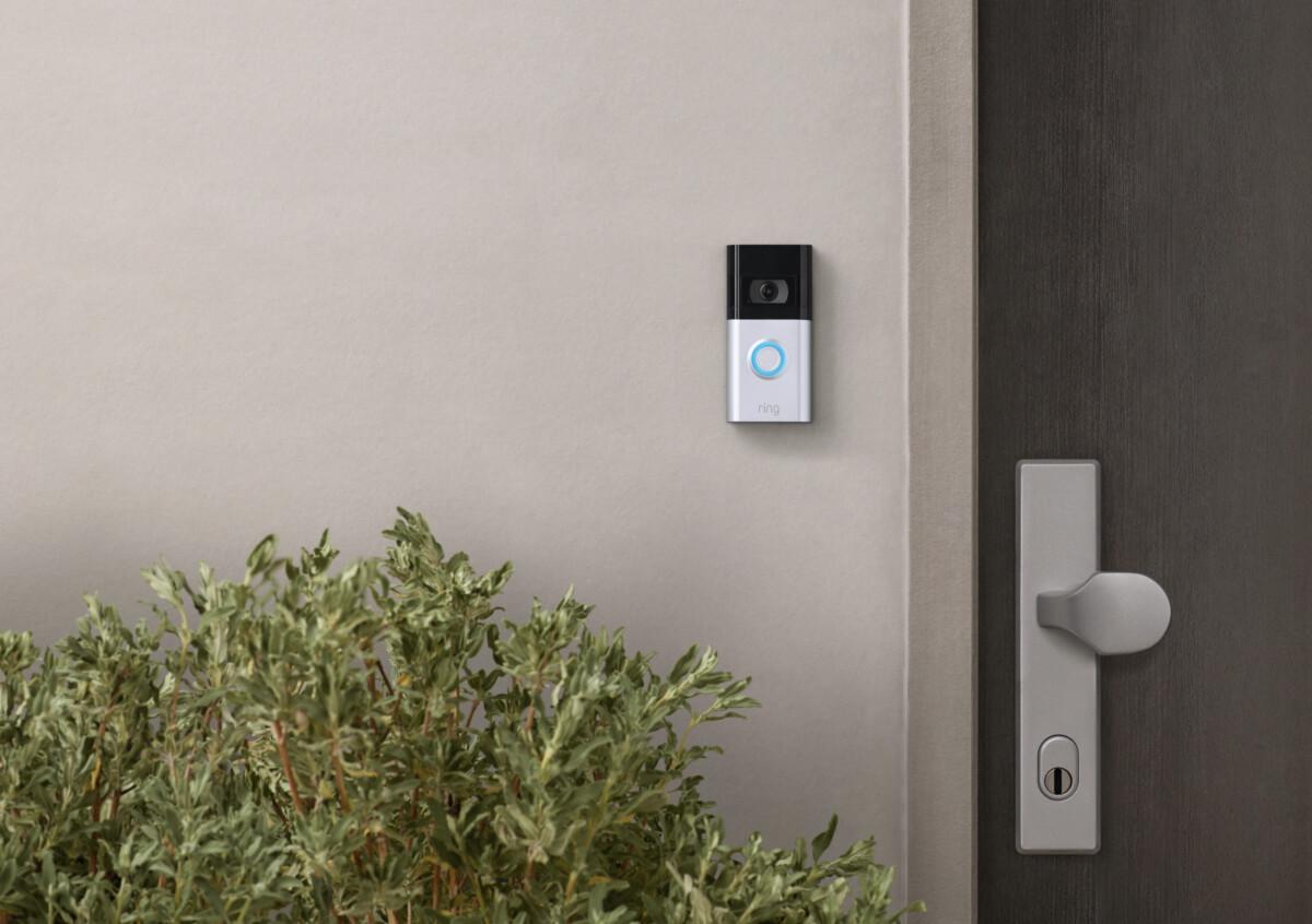 La sonnette vidéo Ring Video Doorbell 4