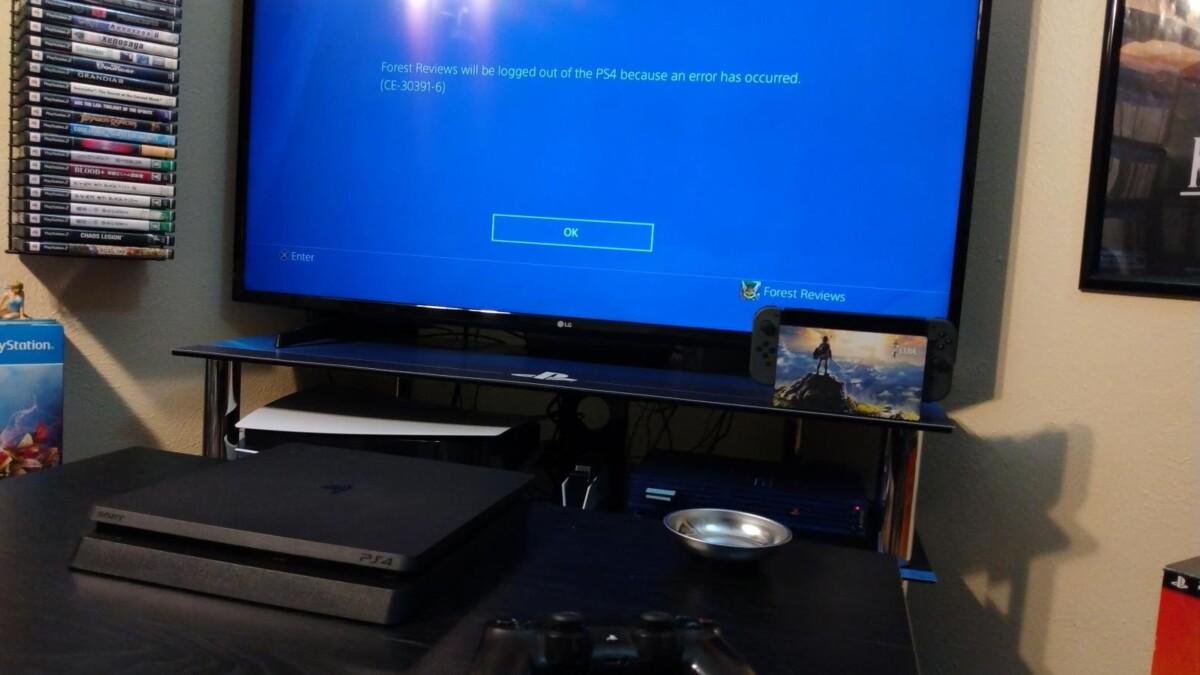Retirer la batterie CMOS de la PS4 provoque un code d'erreur CE-30391-6.