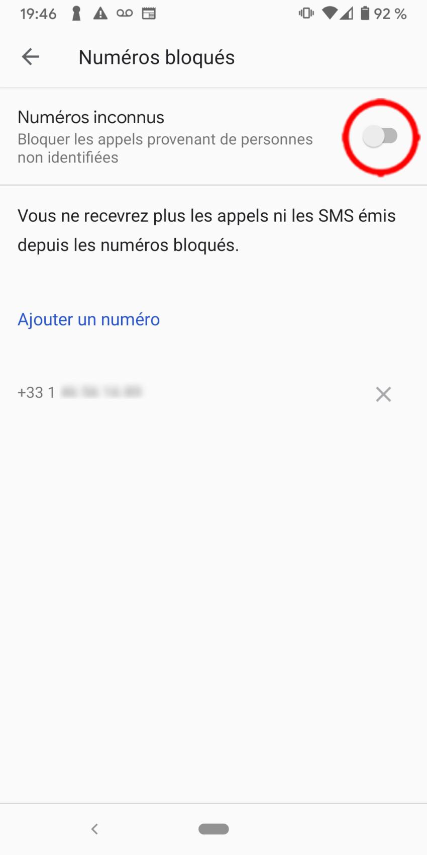Comment bloquer un numéro indésirable sur Android – Tutoriel pour débutants