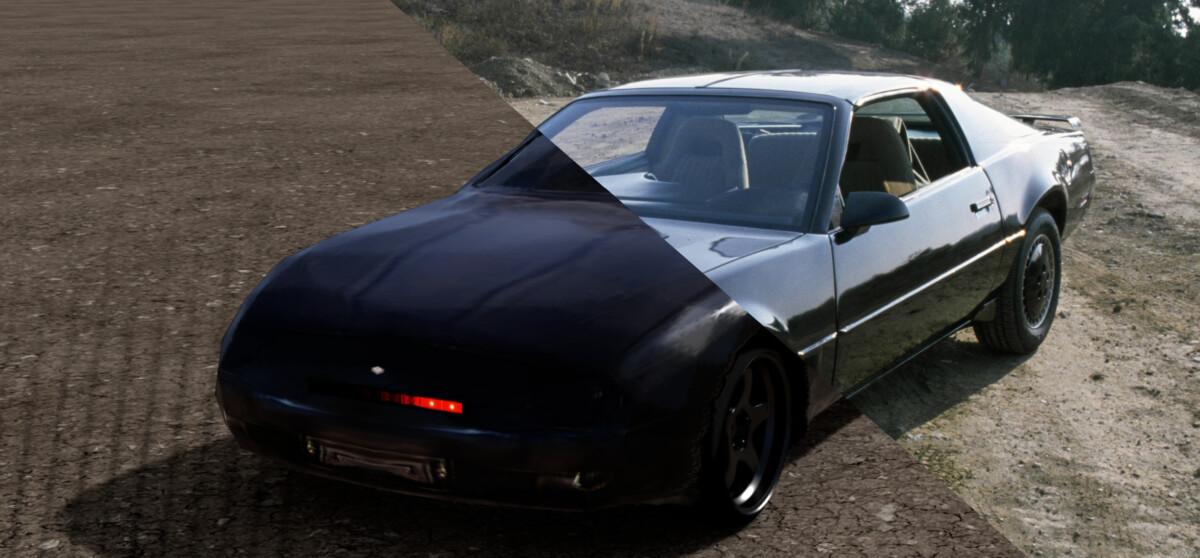 Modelowanie Kitt z obsługą GANVerse 3D dla serii K2000