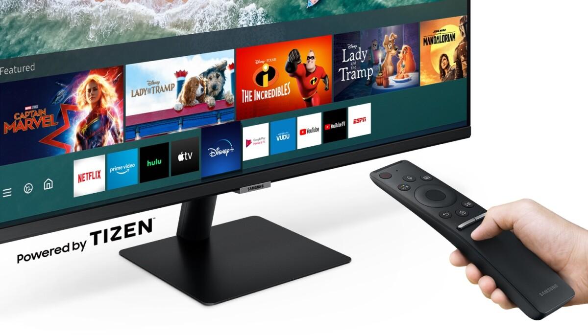 L'écran intègre Tizen et ses applications