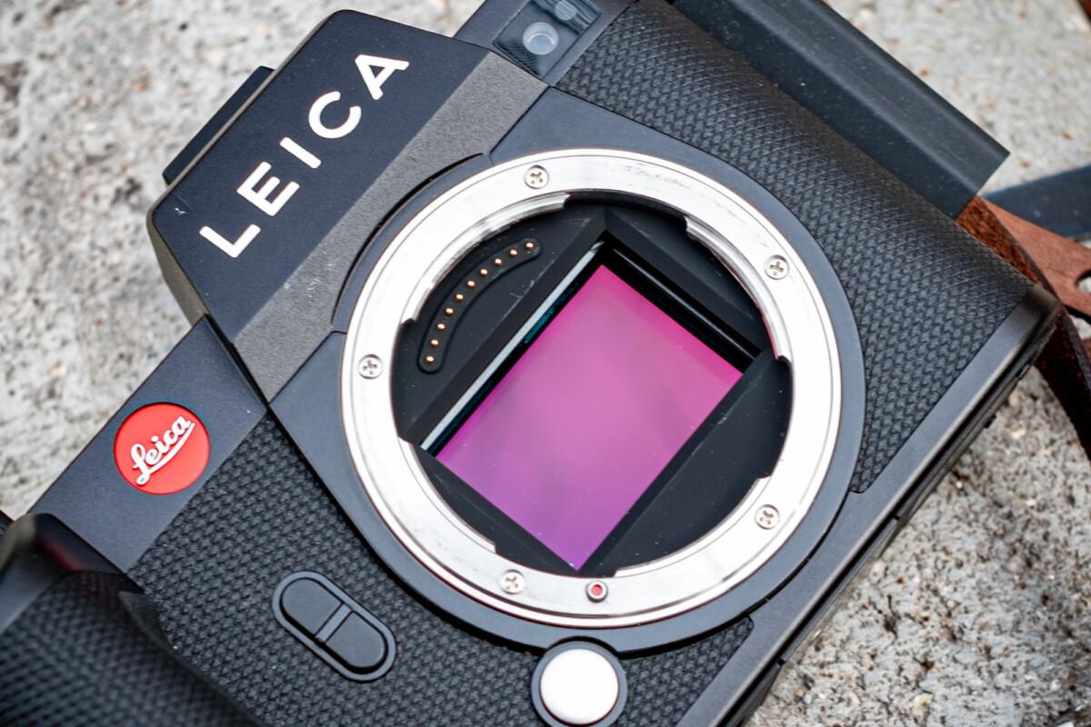 Capteur du Leica SL2