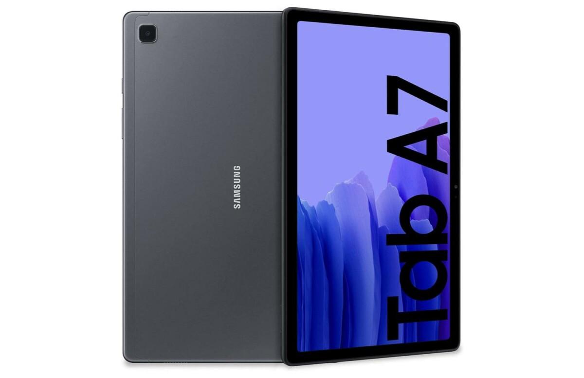 Galaxy Tab A7 : la tablette abordable de Samsung est à prix réduit (-80 €)