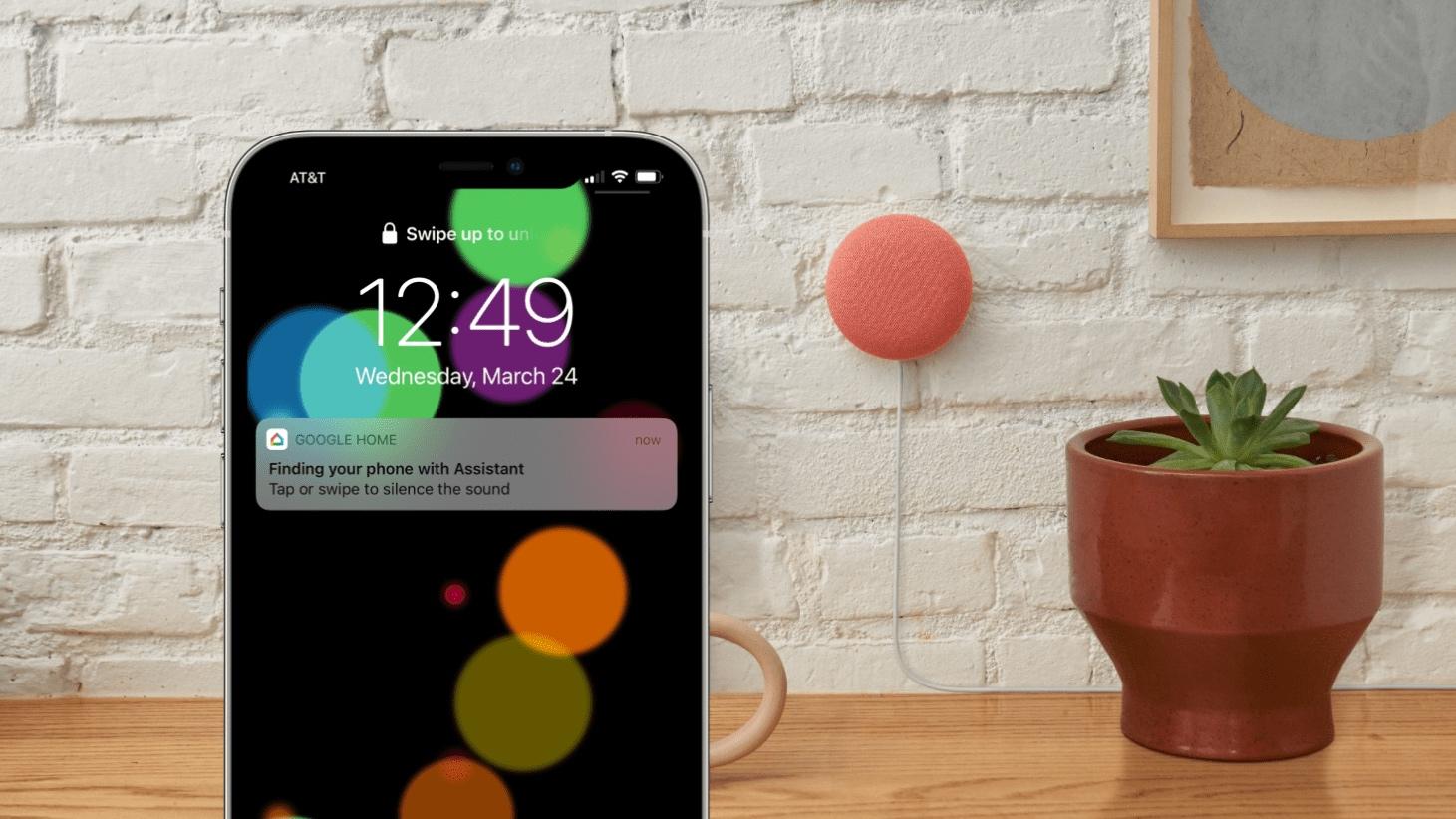 Google Assistant peut enfin retrouver les iPhone.