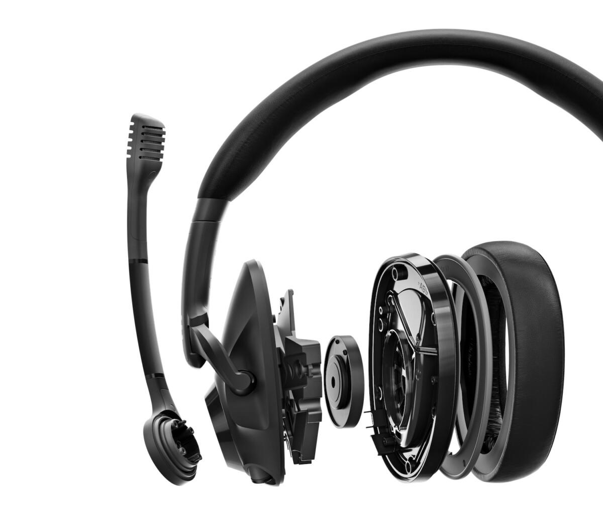 Le système de haut-parleur du casque gaming EPOS H3