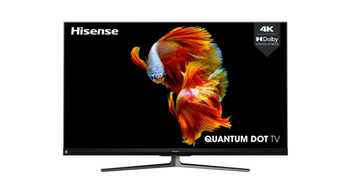 Jusqu'à 200euros remboursés sur les TV QLED HisenseU8QF (55 et 65 pouces)