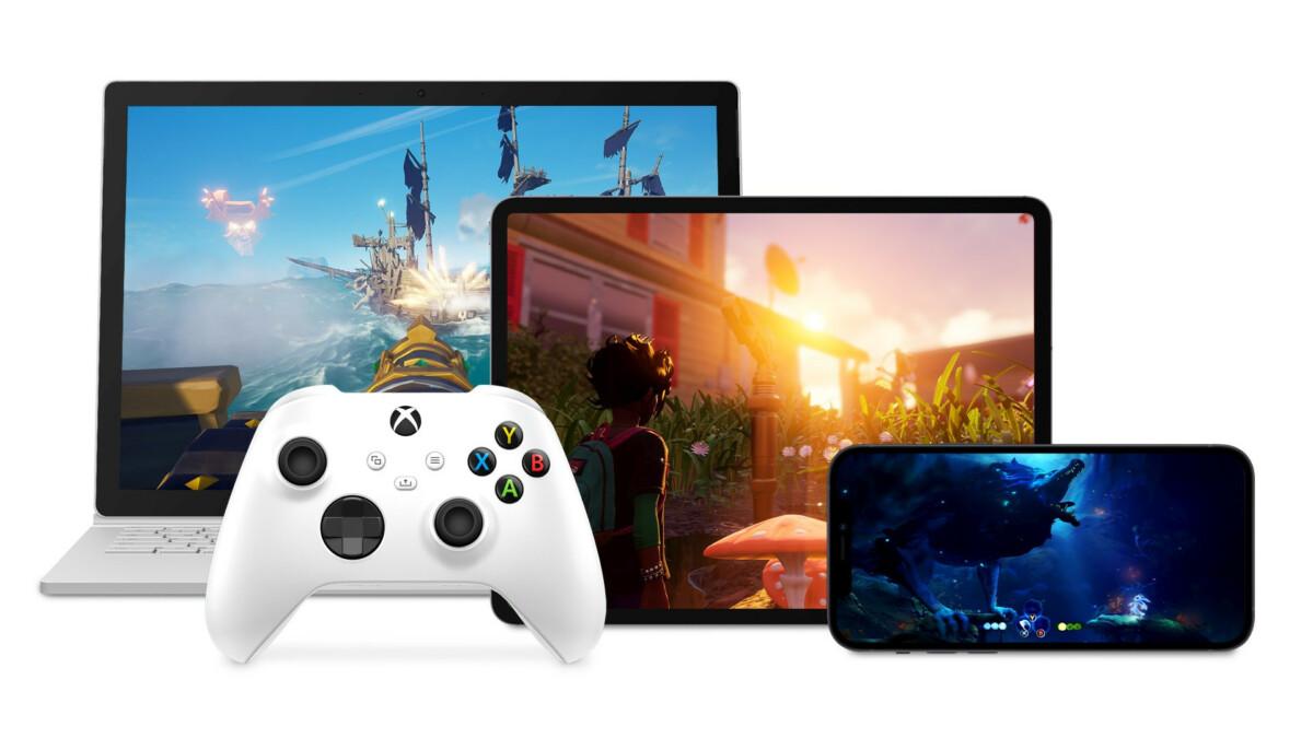 xCloud arrive enfin sur iPhone, iPad et PC Windows 10