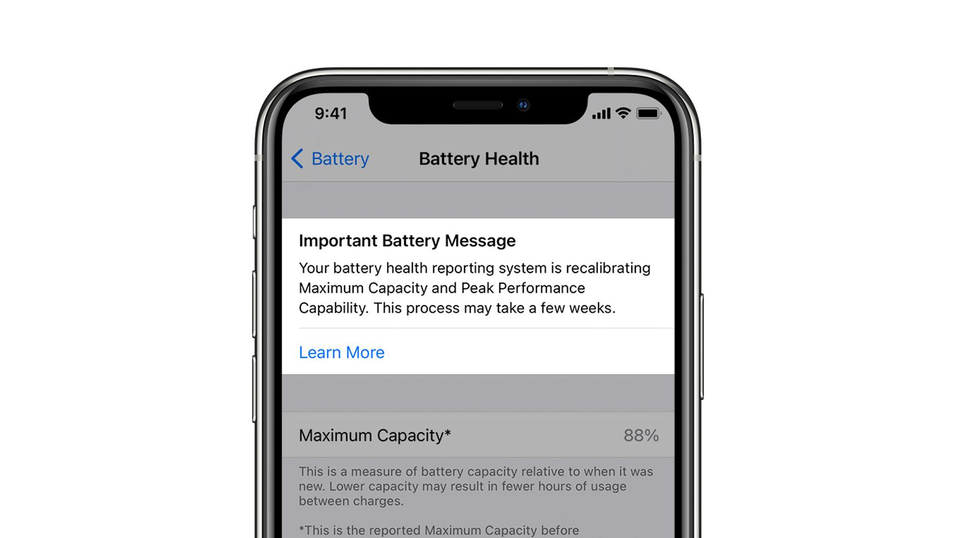 Apple s'apprête à déployer un utilitaire de recalibrate de la batterie avec iOS 14.5